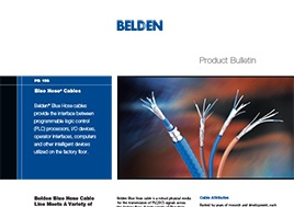 Blue Hose Cables Product Bulletin
