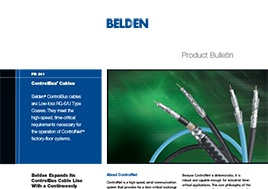 Controlbus Cables Product Bulletin
