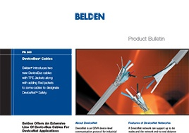 Devicebus Cables Product Bulletin
