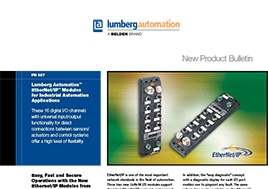 Ethernet Ip Modules For Industrial Automation Applications New Product Bulletin