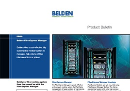 Fiber Express Manager Product Bulletin