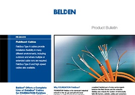 Fieldbus Cables Product Bulletin