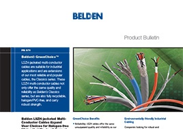 Green Choice Cables Product Bulletin