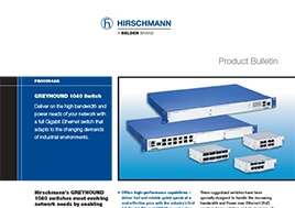 Greyhound 1040 Switch Product Bulletin