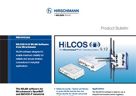 Hilcos 9.12 Wlan Software From Hirschmann Product Bulletin