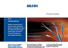 Industrial Ethernet Product Bulletin