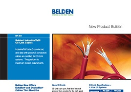 Industrialtuff Cc Link Cables New Product Bulletin