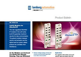 Lion R Modules For Ethernet Ip Product Bulletin