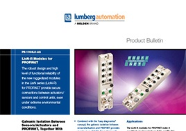 Lion R Modules For Profinet Product Bulletin