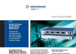 Mach1040 Full Gigabit Switch New Product Bulletin