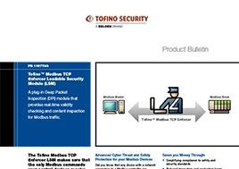 Modbus TCP Enforcer Loadable Security Module (LSM) Product Bulletin
