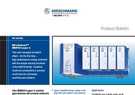 MSP30 Layer 3 Product Bulletin