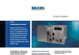 Powertronics Dps3000 Product Bulletin