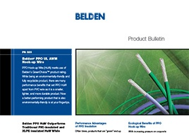 Ppo Ul Awm Hook Up Wire New Product Bulletin