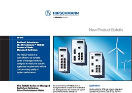 Rsb20 Basic Managed Switches New Product Bulletin