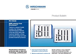 Rspe Switches Product Bulletin