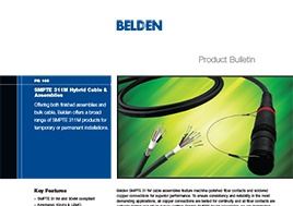Smpte 311M Hybrid Cable Assemblies Product Bulletin