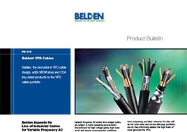 Vfd Cables New Product Bulletin