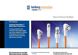 Wash Down Connectors Product Bulletin