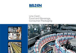 Food And Beverage Consumer Packaging Line Card