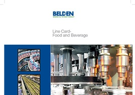 Food And Beverage Line Card