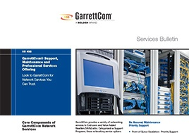 Garrettcom Support Services Bulletin