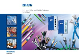 Industrial Wire And Cable Solutions Line Card