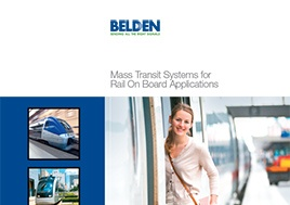 Mass Transit Systems For Rail On Board Applications Brochure