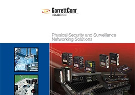 Physical Security And Surveillance Networking Solutions Brochure