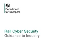 Rail Cyber Security Guidance To Industry