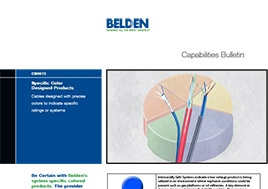 Specific Color Designed Products Capabilities Bulletin