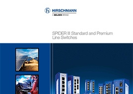 Spider Iii Standard And Premium Line Switches Brochure
