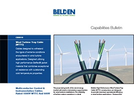 Wind Turbine Tray Cable Capabilities Bulletin