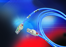 P101 COP: Bonded-Pair Traceable Patch Cords